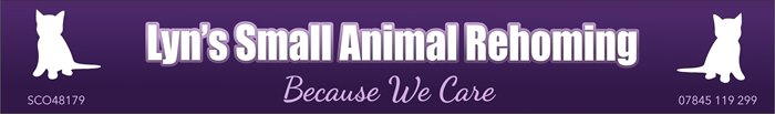 Lyn's Small Animal Re-Homing Service logo